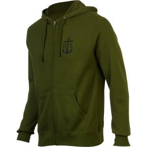 Spanner Full-Zip Hoodie - Men's Army, XXL - Like N