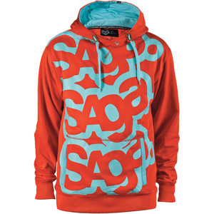 Triple Stack Pullover Hoodie - Men's Red, M - Exce