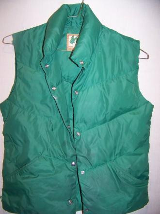 Vintage REI Down Vest, Womens Medium