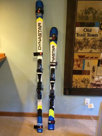 Dynastar WC SL Skis 155cm w/ Look PX 15 Bindings