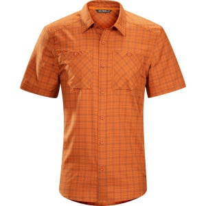 Tranzat Shirt - Short-Sleeve - Men's Umber, XL - E