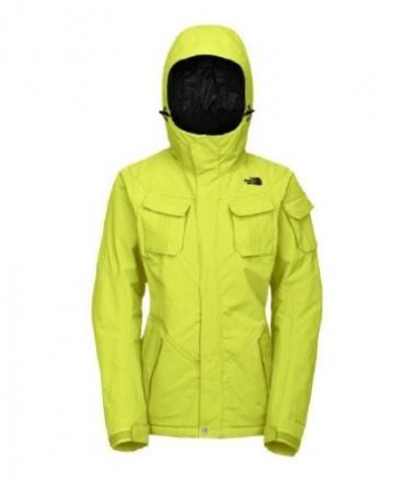 North Face Decagon Womens Sulphur Spring Size Larg