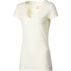 Tara V-Neck Shirt - Short-Sleeve - Women's  Cloud