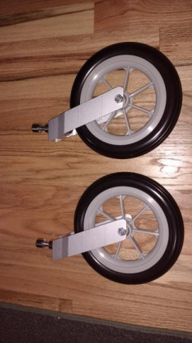 Chariot Carrier stroller wheels
