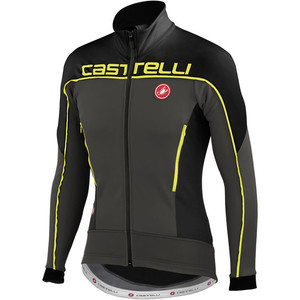 Mortirolo 3 Jacket Anthracite/Black/Yellow Fluo, M - Excellent