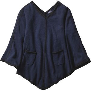 Loislee Poncho - Women's Navy Blue, M/L - Excellent
