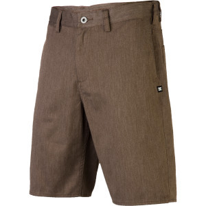 Worker Straight Short - Men's Dark Chocolate Heath