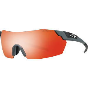 PivLock V2 Max Sunglasses Matte Cement/Red Sol-X,