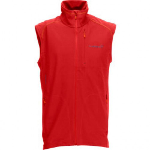 Svalbard Warm1 Vest - Orange Peel -Mens L
