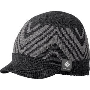 Diamond Heat Visor Beanie Black Heather, One Size
