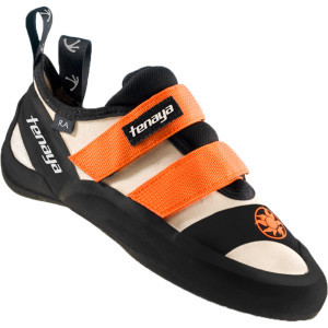 RA Climbing Shoe White/Orange, 8.5 - Excellent