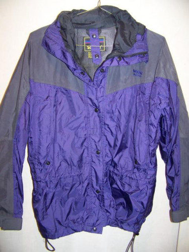 Solstice Waterproof Rain Jacket, WM Large