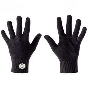 Tech Tip Knit Glove Black, One Size - Excellent
