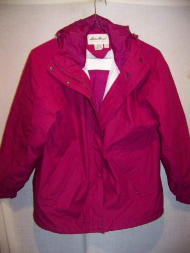 Eddie Bauer Gore-tex Waterproof Rain Jacket, Womens Medium