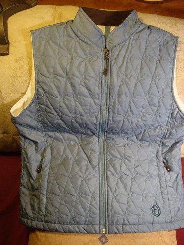 Women's Isis, size 12, fleece backed quilted Thermolite vest.