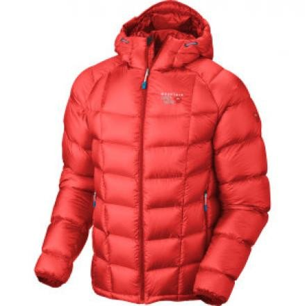 Hooded Phantom Down Jacket - Men's Cherry Bomb, M