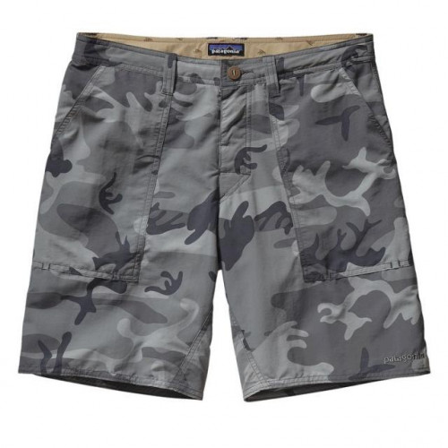 Wavefarer Stand-Up Short - Men's Forest Camo/Forge Grey, 32x20