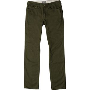 Dominion Twill Pant - Men's Green, 34 - Good