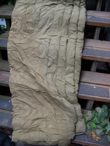 Vintage Military M-1949 Down Mummy Sleeping Bag