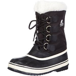 Winter Carnival Boot - Women's Black/Stone, 10.5 - Excellent