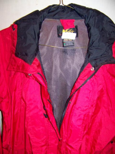 REI Gore-tex Waterproof Rain Jacket Parka, Womens 14 XL