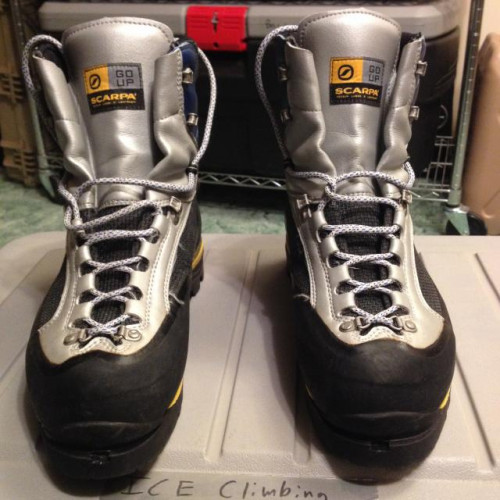 Scarpa Freney M45 11.5US mountaineering Ice climbing boots