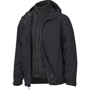 Gorge Component Jacket - Men's Black, L - Good