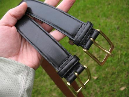Pair of Trafalgar Leather Belts