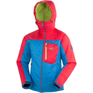 Trilogy Primaloft Jacket - Men's Light Sky/Rouge,