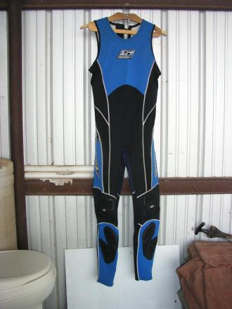 Slippery when Wet Farmers John Wet Suit XL