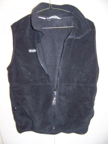 Columbia Poly Fleece Vest, Mens XLarge