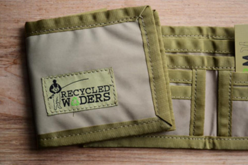 Recycled Waders Greenback Wallet
