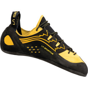 Katana Lace Vibram XS Edge Climbing Shoe Yellow, 42.0 - Good