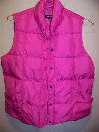 Lands End Down Vest, WM Medium 10-12