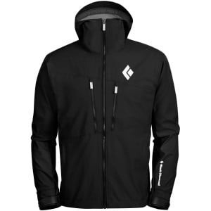 Dawn Patrol Hybrid Shell Jacket - Men's Black, L -