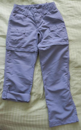 Women's North Face Paramount Convertible Pants size 0