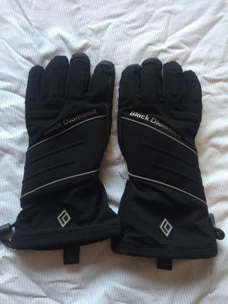 Black Diamond Ice Gloves- Schoeller- XS Mens