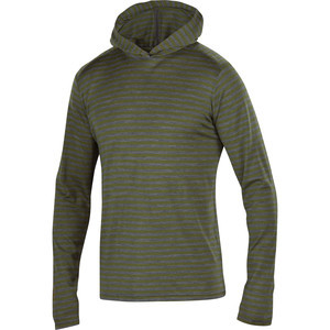 Straightaway Hooded Sweater - Men's Green Night St