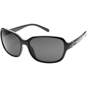 Sequin Sunglasses - Women's - Polarized Black/Gray