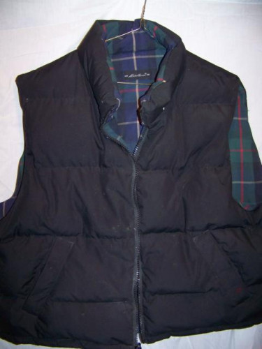 Eddie Bauer Reversible Down Vest, Men's XXLarge