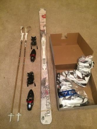 Women's Snow Ski Set