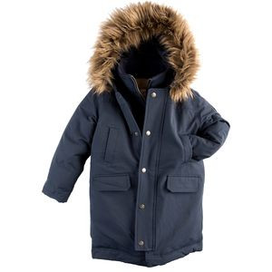Pratt Down Parka - Boys' Dress Blues, 8 - Excellent