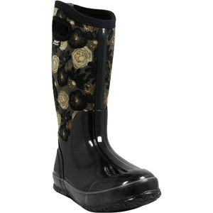 Classic Watercolor Tall Boot - Women's Black Multi, 7.0 - Good