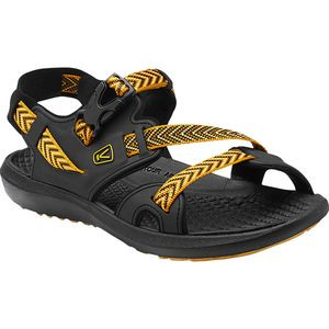 Maupin Sandal - Men's Black/Golden Yellow, 11.0 - Excellent