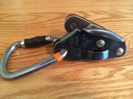 Petzl Williams Ball Lock Carabinere and GriGri