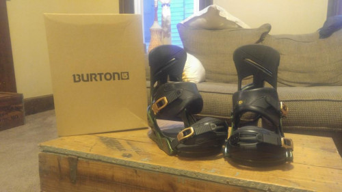 Burton Mission Bindings (used once!)