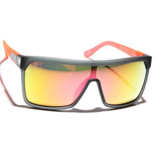 Spy Flynn Sunglasses Afterglo Cosmic Sunrise, Gray w/ Pink Spectra