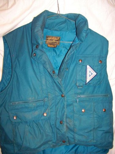 Vintage Eddie Bauer Down Vest, Women's Medium, Audobon Society