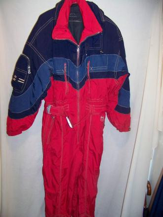 Bogner One Piece Ski Suit, Onsie, Medium 40