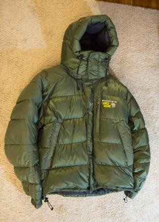Mountain Hardwear Sub Zero SL Hooded Jacket